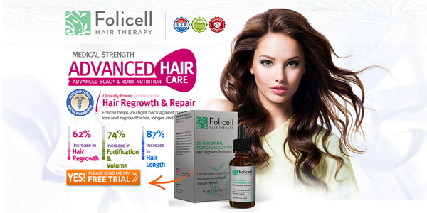 Folicell Hair Therapy Reviews